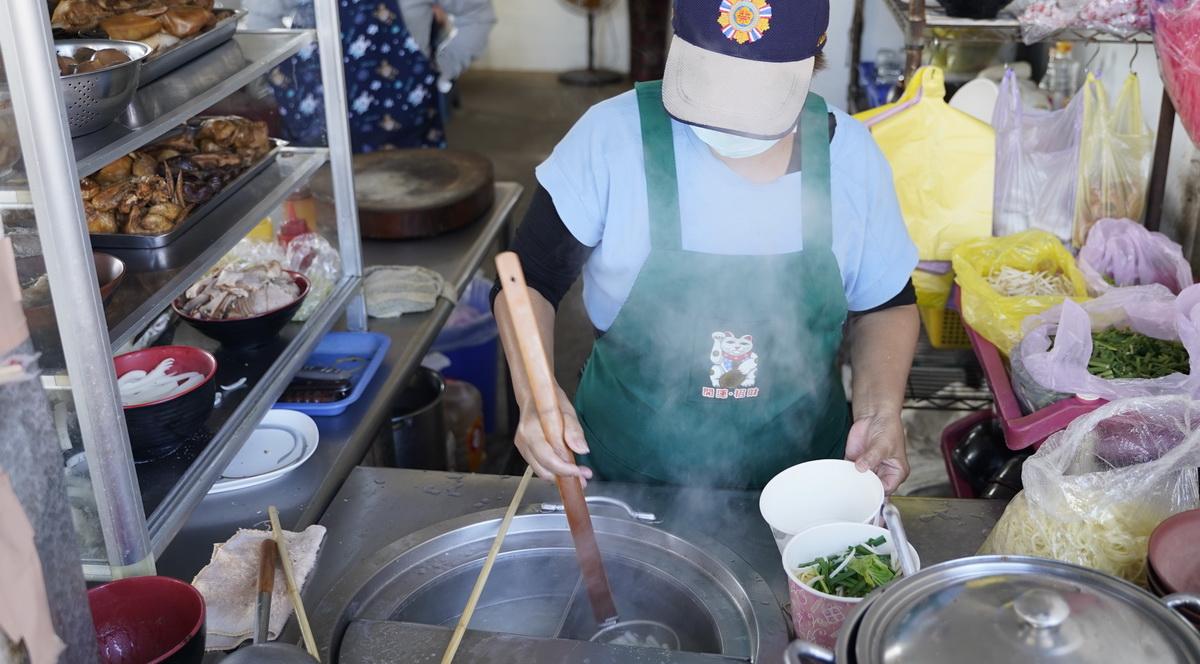 尚武劉台榮麵攤。